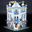 レゴクリエイター風 ホテル 作り方 おもちゃ Lepin 15018 MOC ブロック