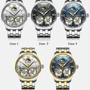 BINGERブランド腕時計スケルトン 正規品