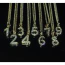 number necklace 小