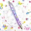 小鳥とぶどうのスイーツボールペン♡パープル