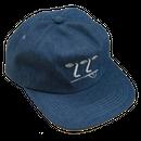 WKND【 ウィークエンド】3-2-1 Face Hat - Denim キャップ 帽子 デニム