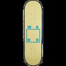 WKND【 ウィークエンド】Cream/Baby Blue Logo Board  デッキ 板 8.125インチ