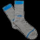 WKND【 ウィークエンド】Line Logo Sock ソックス 靴下 グレー