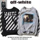 Off-White2016年秋新品 オフホワイト メンズバーカ White -09