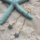 Star blue opal pierced