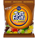 Fazer Tutti Fruttiトゥッティ フルッティ チョコ フルーツ味 グミ 170g*1袋 グルテンフリー フィンランドのお菓子です