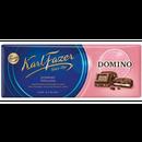 Karl Fazer Domino ドミノ クッキー チョコレート 195g 10枚セット フィンランドのチョコレートです