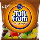 Fazer Tutti Fruttiトゥッティ フルッティ チョコ フルーツ味 グミ 170g*10袋セット グルテンフリー フィンランドのお菓子です