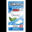 レイクロール デンツ 36g x 1箱 メンソール 味 キシリトール キャンディ フィンランドのお菓子です Läkerol Dents Menthol 36g