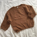 cotton linen pullovers*brown