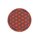 flower of life patch navy(gw007b)