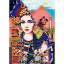 """""""L.M.kartenvertrieb""""kureopatra 3D postcard (glm3013)"""