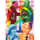 """""""L.M.kartenvertrieb""""peace 3D postcard (glm3011)"""