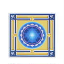 "【 starshine arts 】""sri yantra"" sticker (ss-14)"