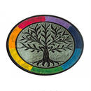 """tree of life 〜rainbow〜"" Incense stick holder soapstone  (si002)"