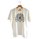 孔雀Tシャツ(白)