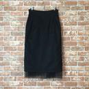 【受注生産/約2ヶ月後のお届け】LYS -fantasia for your dress- ハイウエストチュールスカート [black]