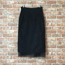 LYS -fantasia for your dress- ハイウエストチュールスカート [black]
