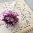 MARBLE & Co. お花のボールペン ラナンキュラス  [lavender]