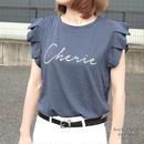 【ポスト便】タックロゴプリントTシャツ