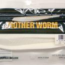 マザーワーム 6インチ チョークホワイト