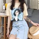 【Free paper No.2 掲載☆】Jeanne T shirt