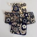 【即納】flower felt pouch