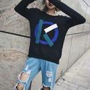 alphabet K knit