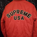 16FW  Supreme Quilted Nylon Tanker Jacket