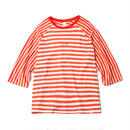 QUARTER SLEEVE STRIPES Tee