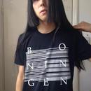 【BO NINGEN】 T-シャツ BLACK