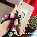 iPhone6~7大きいPOPなカラーに立体的なストラップ魅力のスマホケース