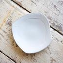馬場勝文 / 変形角皿5.5寸 - 土マット