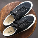ASAHI BELTED LOW CANVAS  /  - BLACK