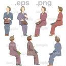 シニアイラスト (EPS , PNG )   se_078