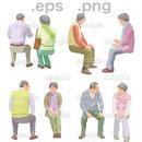 シニアイラスト (EPS , PNG )   se_158