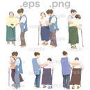 シニアイラスト (EPS , PNG )   se_032
