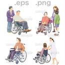 シニアイラスト (EPS , PNG )   se_085