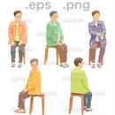 シニアイラスト (EPS , PNG )   se_069