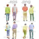 シニアイラスト (EPS , PNG )   se_119