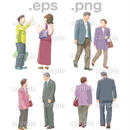 シニアイラスト (EPS , PNG )   se_026