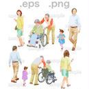 シニアイラスト (EPS , PNG )   se_197