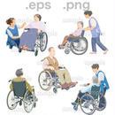 シニアイラスト (EPS , PNG )   se_095