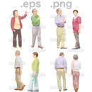 シニアイラスト (EPS , PNG )   se_118