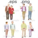 シニアイラスト (EPS , PNG )   se_002
