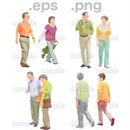 シニアイラスト (EPS , PNG )   se_115