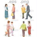 シニアイラスト (EPS , PNG )   se_029