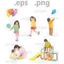 子供イラスト (EPS , PNG )   ch_003