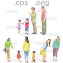 シニアイラスト (EPS , PNG )   se_101