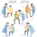 シニアイラスト (EPS , PNG )   se_250